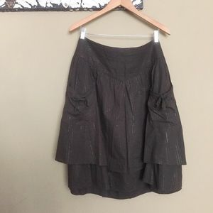 Double Layer Peasant Skirt